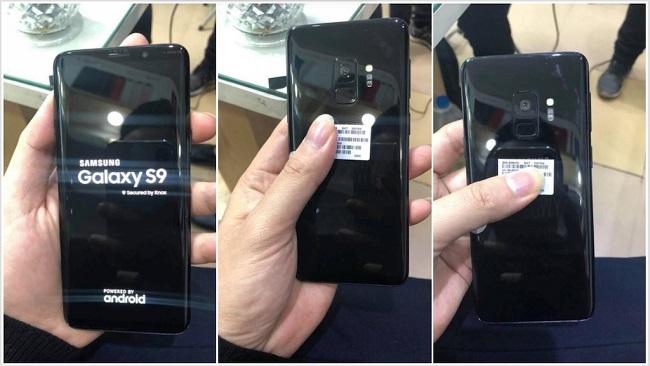 Trên tay Galaxy S9 thực tế