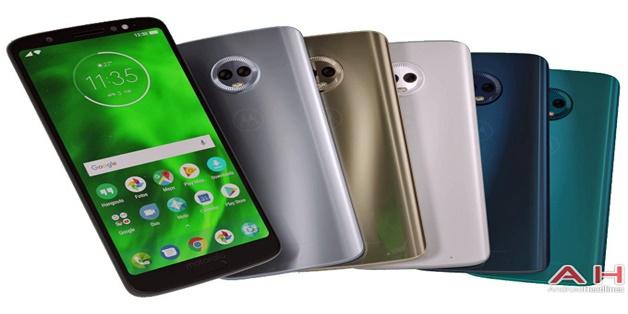 Motorola Moto G6 Plus rò rỉ ảnh dựng đầy đủ tùy chọn màu sắc