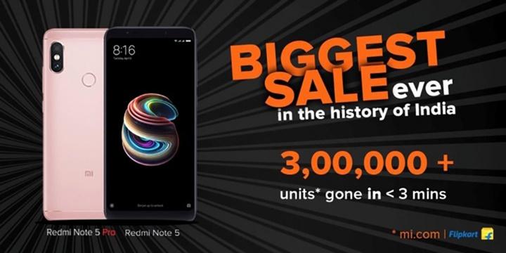 Người dùng Ấn Độ tức giận vì Xiaomi Redmi Note 5 Pro đã bán hết trong vài giây