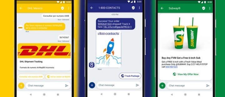 Google chính thức ra mắt dịch vụ RCS giúp doanh nghiệp tương tác với người dùng