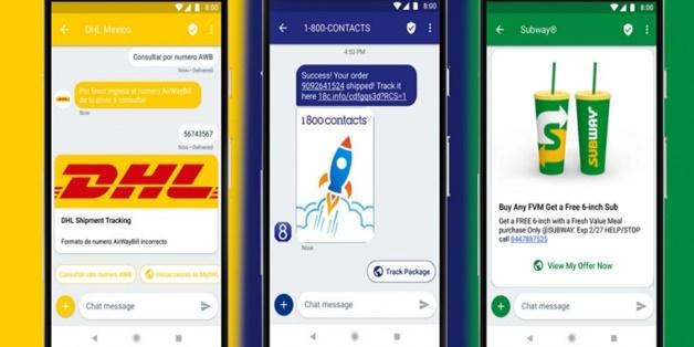 Google chính thức ra mắt dịch vụ RCS giúp doanh nghiệp tương tác với