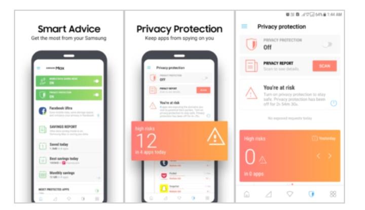 Samsung giới thiệu ứng dụng Samsung Max giúp tiết kiệm dữ liệu, bảo vệ sự riêng tư của bạn