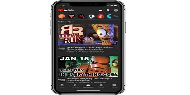 Cách bật chế độ màu tối của YouTube trên các thiết bị iOS