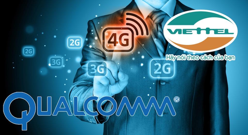 Viettel và Qualcomm ký thỏa thuận sử dụng bản quyền công nghệ 3G/4G
