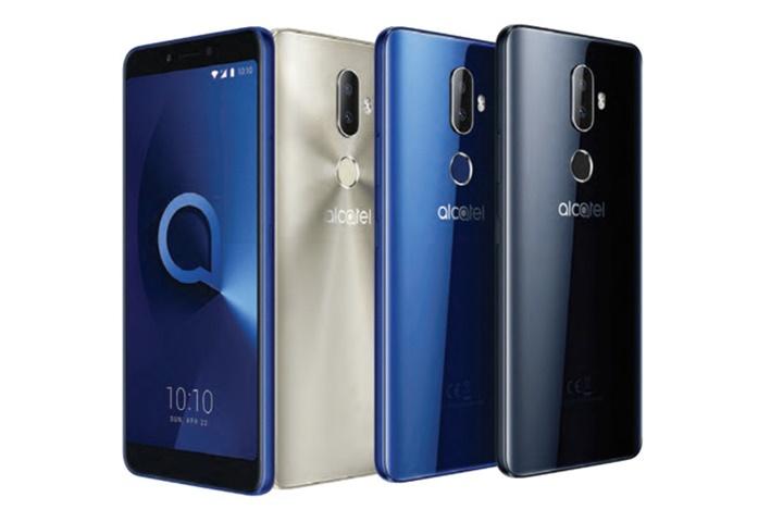 Alcatel giới thiệu liền một lúc 5 smartphone giá rẻ: màn hình 18:9, mở khóa bằng khuôn mặt, chạy Android Go