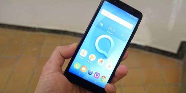 [MWC 2018] Thất vọng toàn tập với Alcatel 1X - điện thoại Android Go đầu tiên
