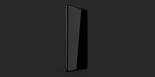 BlackBerry Ghost: smartphone Android cao cấp không viền màn hình dành cho thị trường Ấn Độ