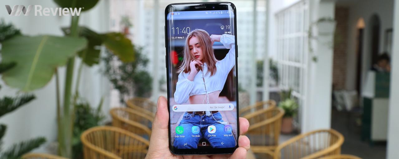 Trên tay Galaxy S9, dùng thử camera 2 khẩu, quay siêu chậm 960 fps và AR Emoji
