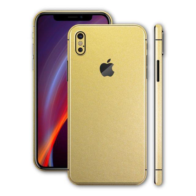 Rò rỉ hình ảnh iPhone X màu Vàng