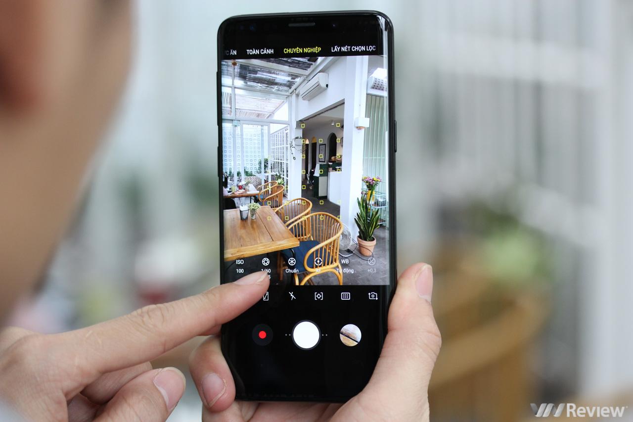 Trên Tay Những Tính Năng Nổi Bật Của Galaxy S9 110