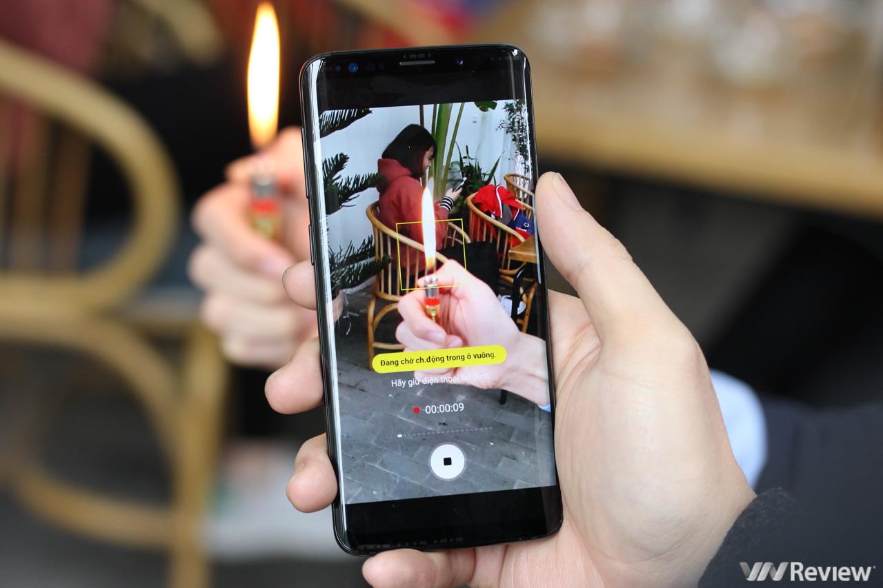 Trên Tay Những Tính Năng Nổi Bật Của Galaxy S9 128