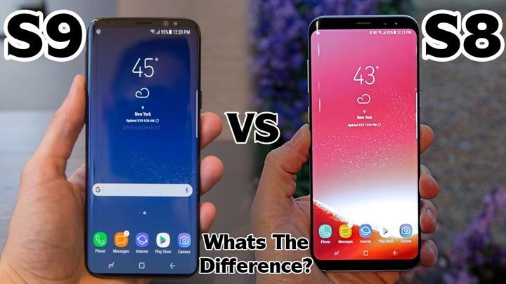 Galaxy S9 không phải là bản copy hoàn toàn của Galaxy S8