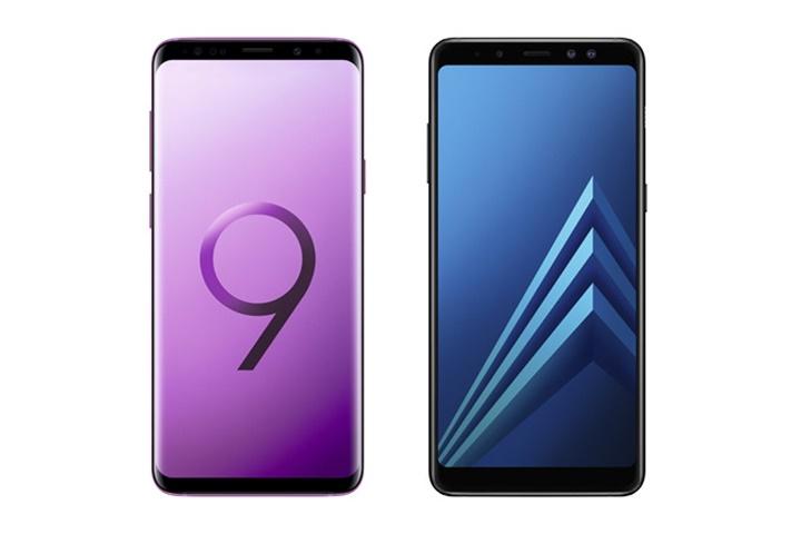 Samsung giới thiệu phiên bản Galaxy S9 và Galaxy A8 Enterprise Edition