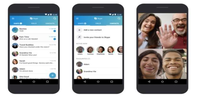 Microsoft đang tối ưu hóa Skype cho điện thoại Android cấp thấp