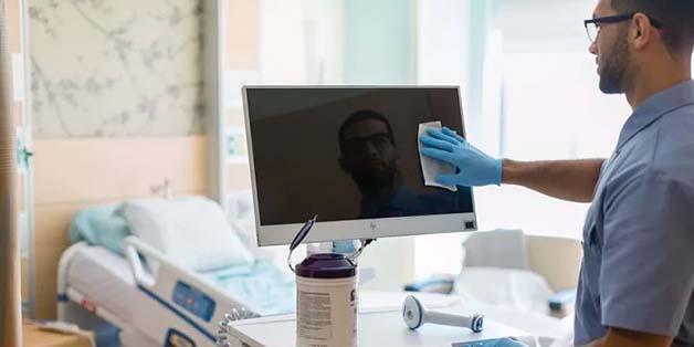 HP ra mắt máy tính mới có khả năng chống khuẩn trong các bệnh viện
