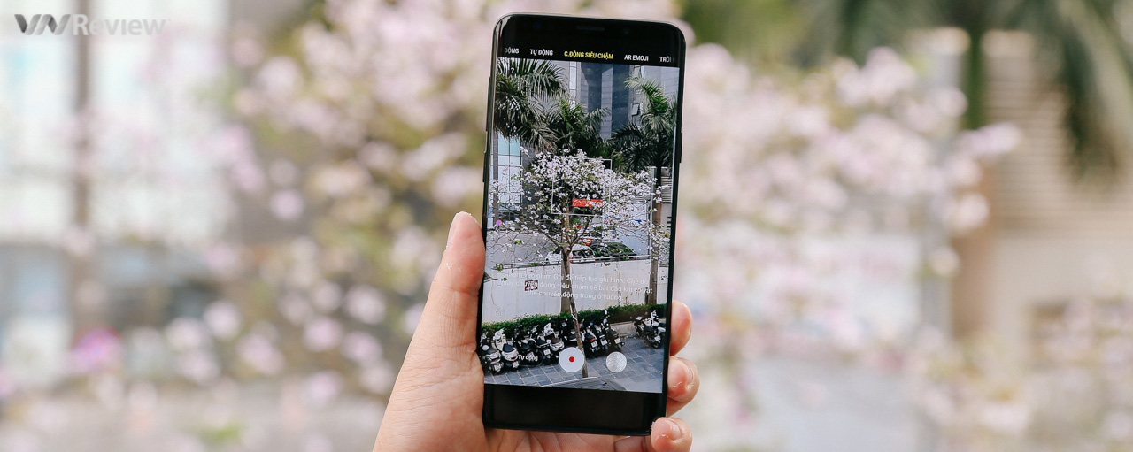 Mở hộp Samsung Galaxy S9+ chính hãng phiên bản màu đen