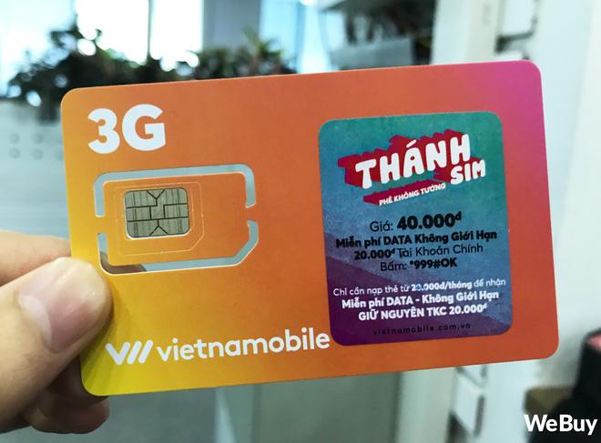 """""""Thánh SIM"""" của Vietnamobile bị Cục Viễn thông yêu cầu dừng triển khai"""