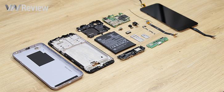 VnReview mổ smartphone hot nhất tầm giá 2 triệu đồng: Xiaomi Redmi 5A