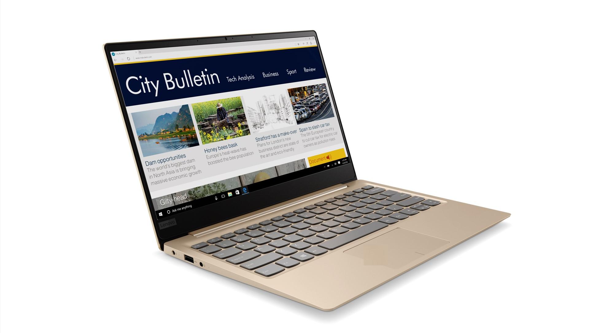 Lenovo ra mắt IdeaPad 320S: laptop viền mỏng, gọn nhẹ, thân kim loại, giá 15 triệu