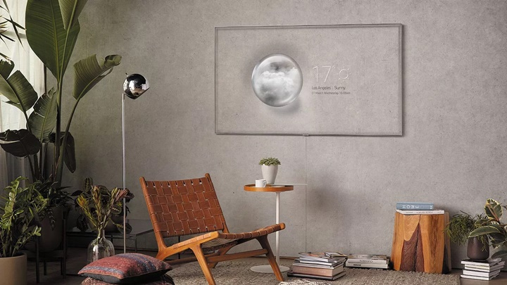 TV QLED mới của Samsung có thiết kế gần như vô hình