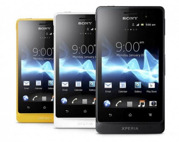 Sony Xperia Go và acro S có thể chống nước