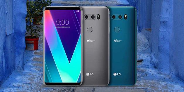 LG V30s ThinQ và V30s+ lộ giá bán hơn 1.000 USD