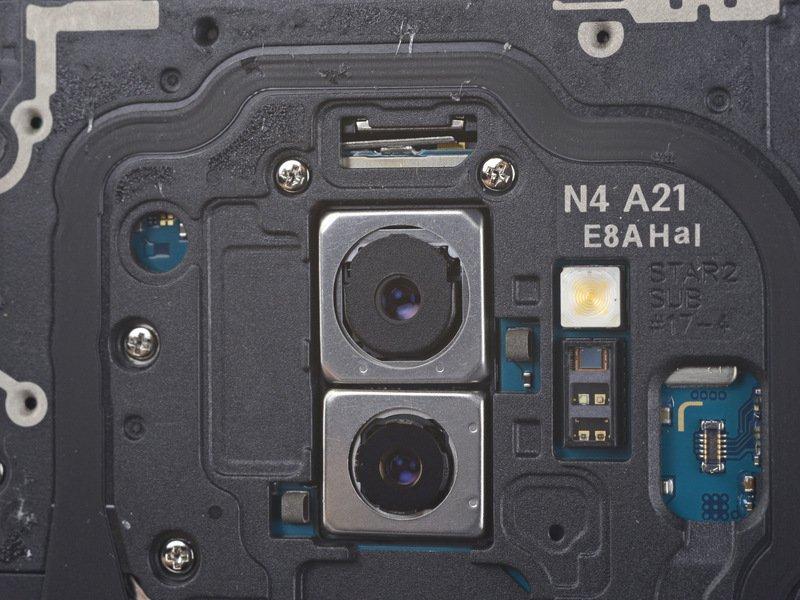 Mổ bụng Galaxy S9+: khó tháo gỡ, linh kiện kiểu module, thay thế từng phần tốt - ảnh 4