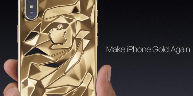 Caviar ra mắt iPhone X mạ vàng ròng, giá hơn 100 triệu
