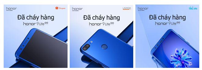 Honor 9 Lite sạch kho trong đợt đầu mở bán flash sale - ảnh 1