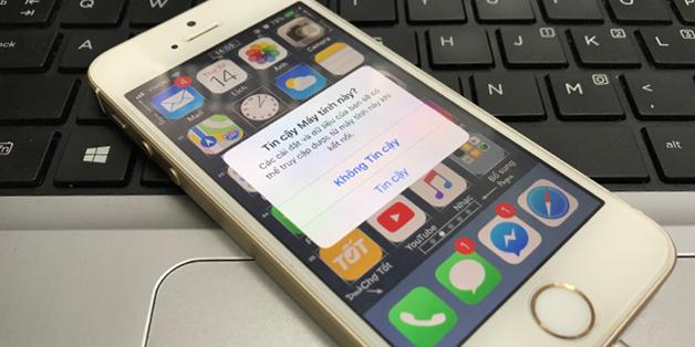 Hướng dẫn sửa lỗi iPhone không hiển thị thông báo Trust This Computer? - ảnh 1
