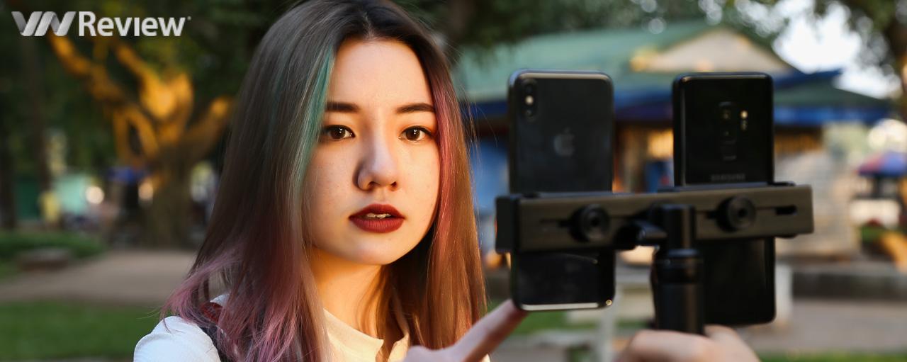 Galaxy S9+ thắng áp đảo iPhone X trong bài đọ camera kép giấu mặt