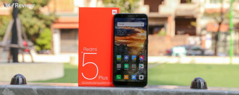 Đánh giá Xiaomi Redmi 5 Plus: mọi thứ đều tốt, chỉ có camera hơi đuối