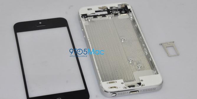 Ảnh iPhone 5 bị rò rỉ trên mạng?