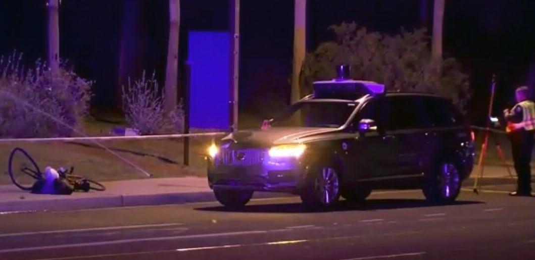 Xe tự lái của Uber gây tai nạn chết người