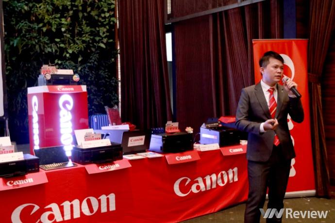 Canon ra mắt loạt máy in G-Series mới, hỗ trợ in ảnh tràn lề và in qua... tin nhắn