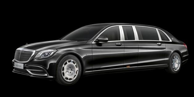 Ngắm siêu xe Mercedes-Maybach Pullman S650 chuyên dành cho nguyên thủ mới trình làng