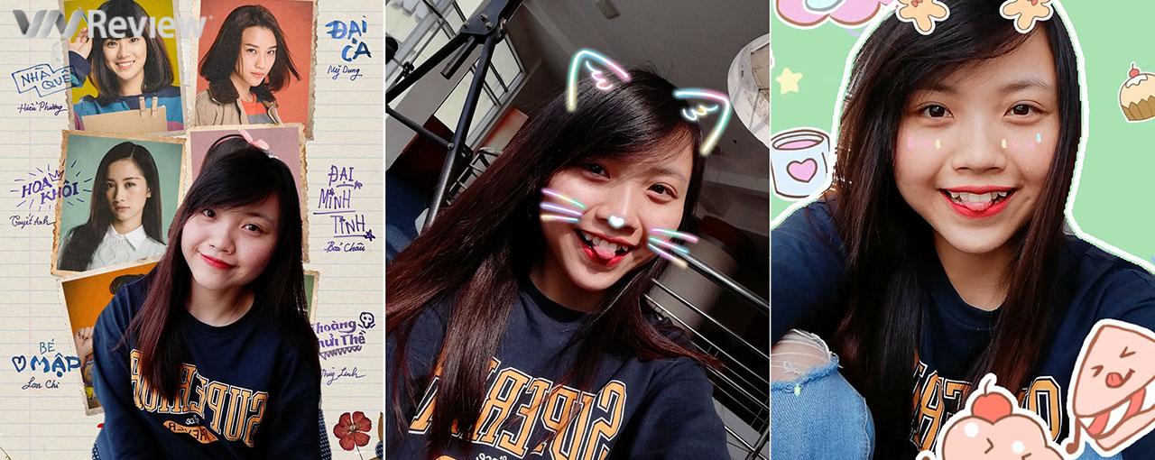 Trải nghiệm AR Selfie mới cập nhật trên Huawei Nova 2i: Vui nhộn, nhiều hiệu ứng độc đáo
