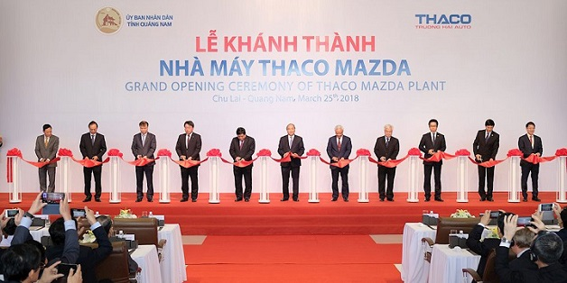 Khánh thành nhà máy lắp ráp xe Mazda lớn nhất Đông Nam Á tại Việt Nam