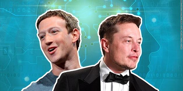 """Elon Musk, Mark Zuckerberg và những màn """"đấu khẩu"""" trên mạng xã hội"""
