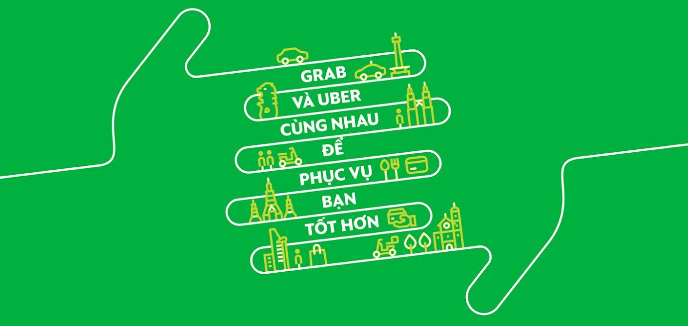"""Người dùng Việt Nam chỉ còn 2 tuần để """"đi Uber"""", sau đó sẽ được thay bằng Grab"""
