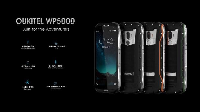 Có gì hot trong chiếc smartphone siêu bền WP5000?