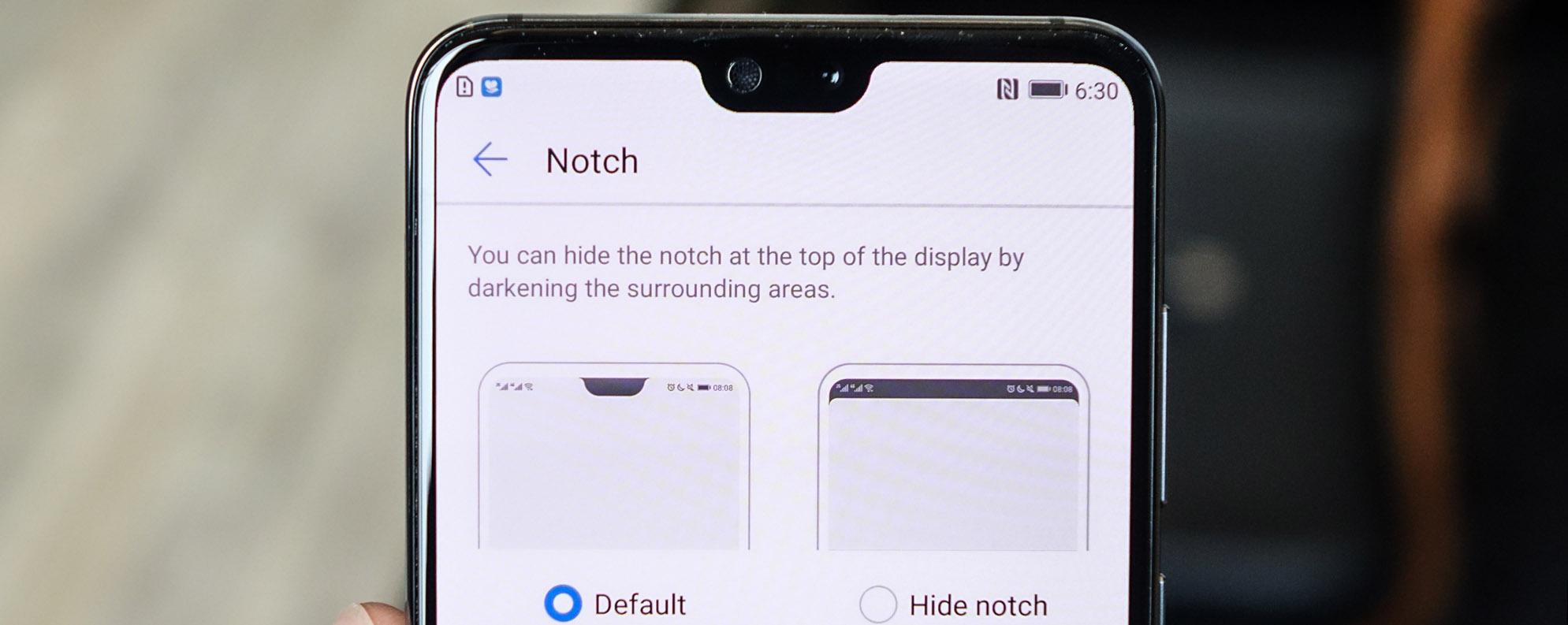 """iPhone X """"clone"""" của Huawei cung cấp tính năng ẩn tai thỏ, iFan có thích điều này?"""