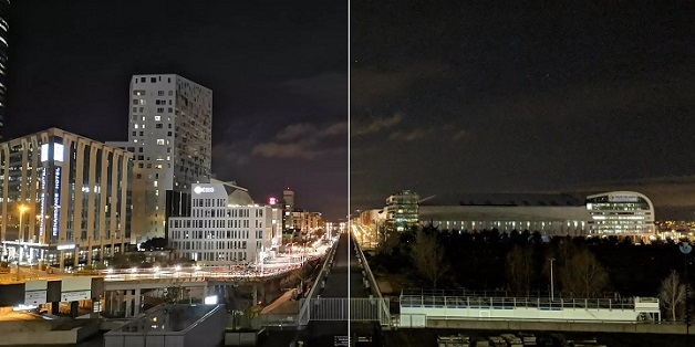 Cùng so sánh ảnh chụp đêm giữa Huawei P20 Pro và Google Pixel 2 XL