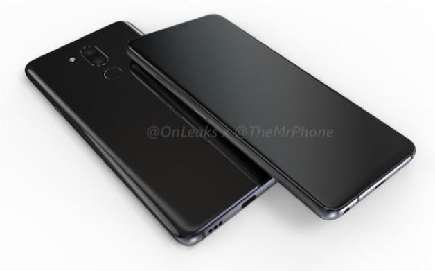 LG G7 lộ ảnh dựng, xác nhận có tai thỏ, camera kép xếp dọc và màn hình 6 inch