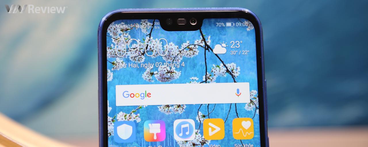 """Trên tay Huawei Nova 3e: phổ cập """"tai thỏ"""" cho mọi nhà"""