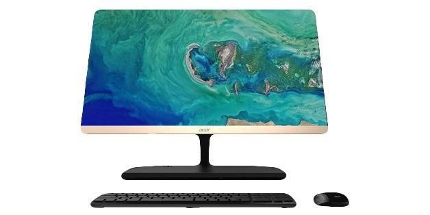 Acer tích hợp cả một đế sạc không dây chuẩn Qi vào chiếc All-in-one PC mới của mình
