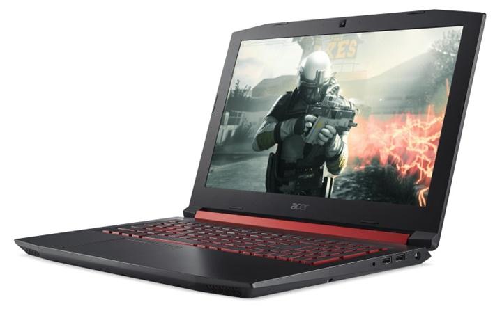 Acer giới thiệu laptop chơi game Nitro 5 với vi xử lí 6 nhân tích hợp bộ nhớ Optane của Intel