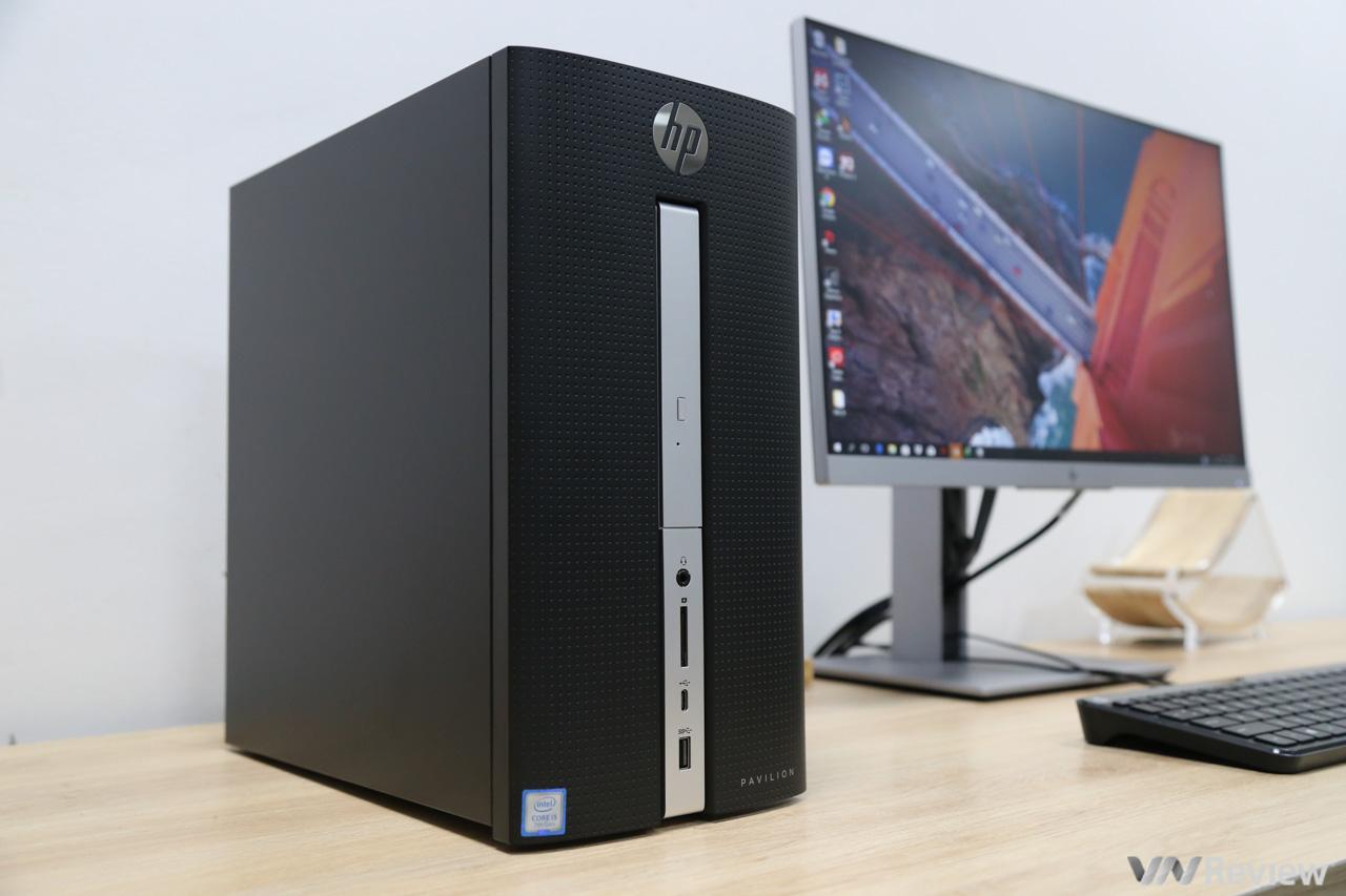 Đánh giá HP Pavilion 570 p007d: desktop nhỏ gọn, tiết kiệm điện và dễ nâng cấp