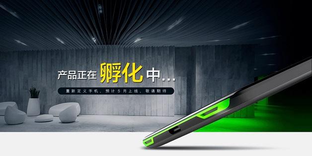 Lộ diện bản thiết kế smartphone chơi game Black Shark của Xiaomi
