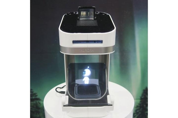 Samsung Aurora: chiếc loa có thể kết nối với dock sạc dành cho kết nối với smartphone